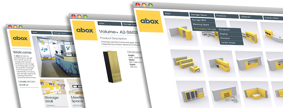 Abox Storage Solutions Website Development