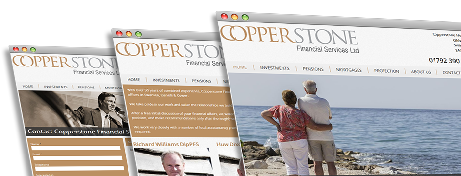 Copperstone Financial Web Design