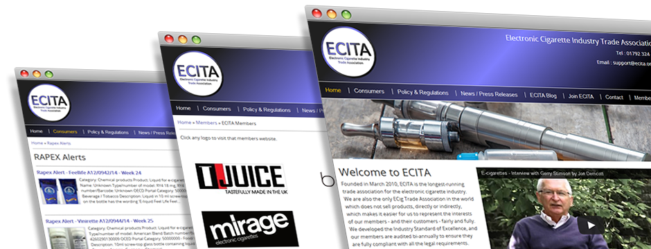 ECITA Website Design & Development
