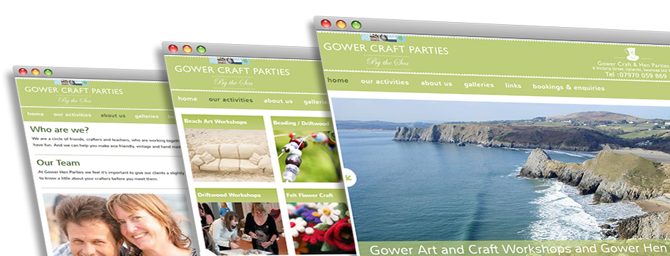 Gower Craft Parties