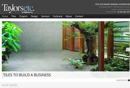 Taylors ETC Commercial Website
