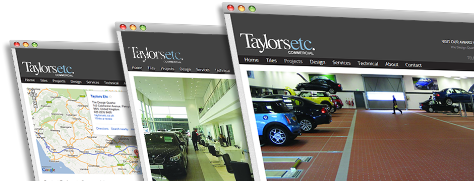 Taylors ETC Commercial Website