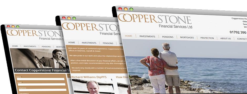 Copperstone Financial Web Design