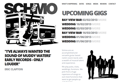 Schmo Website Development