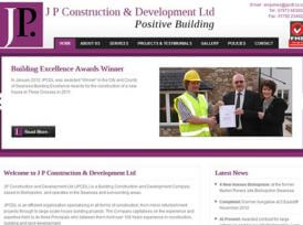J P Construction & Development Ltd Website Development