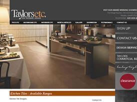 Taylors ETC Website